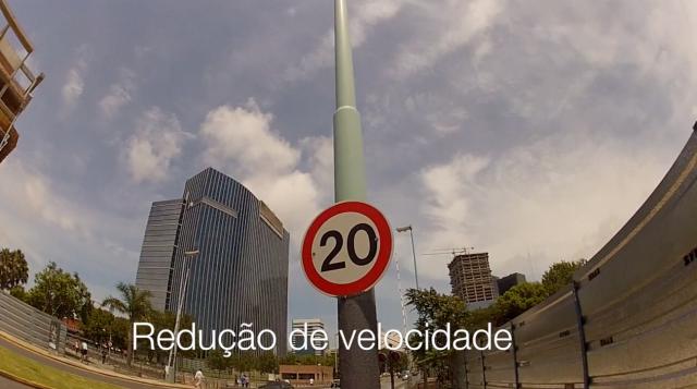 Redução da velocidade no centro da cidade de Buenos Aires. Foto: Rachel Schein